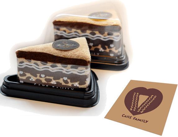 三角咖啡巧克力蛋糕